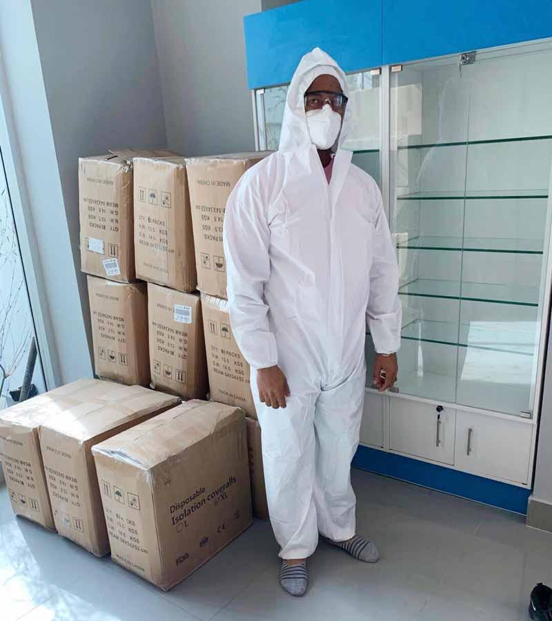 全力支援抗疫,暖心行动获赞— 安徽迈德普斯医疗收到多封感谢信