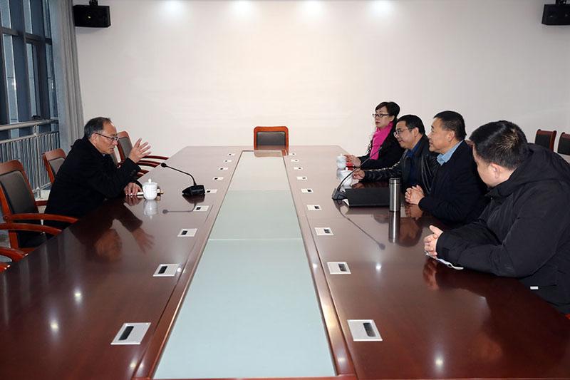 郑家齐副市长一行莅临安徽迈德普斯调研慰问