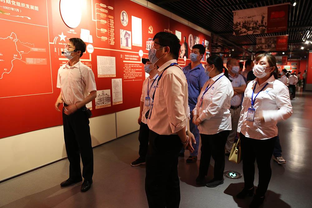 迎国庆 共奋进——迈德普斯组织员工参观安庆市博物馆