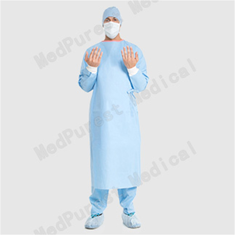 Poly-Reinforced Prevenion Plus Sleeve Surgical Gown