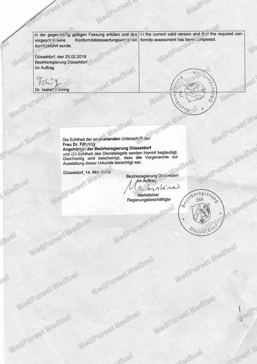 Free sale certificate 2